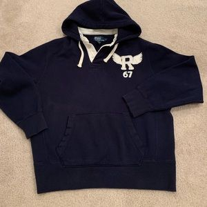 Polo Ralph Lauren baby blue pullover sweater Large
